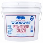 Woodwise Full-Trowel Filler- Walnut 3.5 Gallon Pail